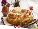 Рецепта Пухкав домашен козунак със стафиди и филирани бадеми